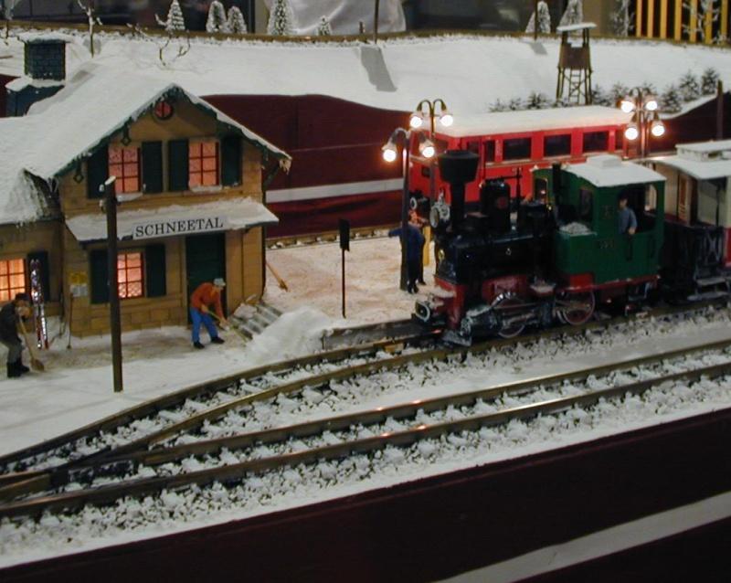 Modellbahnausstellung Strohsackpassage Leipzig 2014 Dscn0041