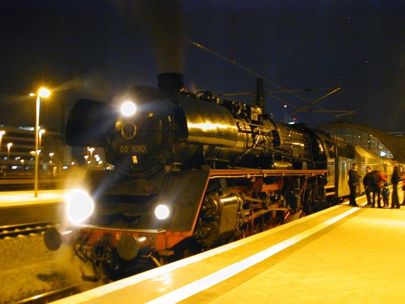 """""""Überraschender"""" Sonderzug in Leipzig Dscn0220"""