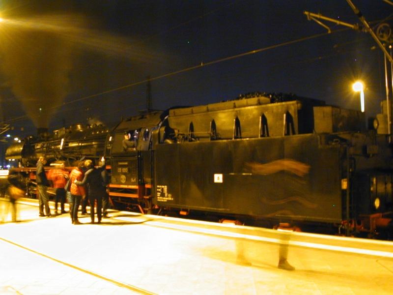 """""""Überraschender"""" Sonderzug in Leipzig Dscn0222"""