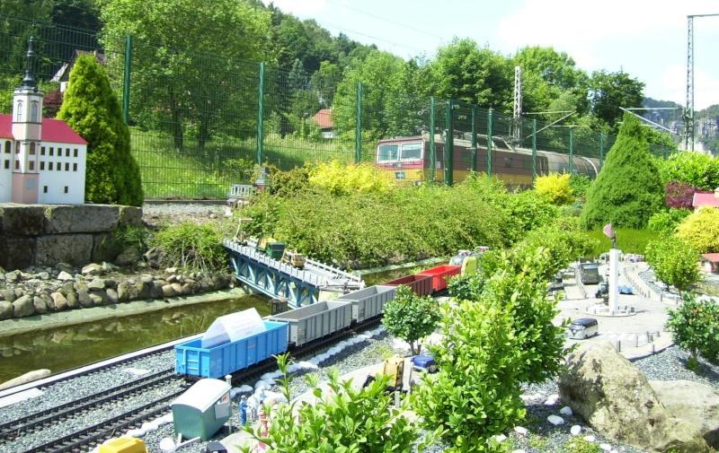 Egal welches Wetter - die Eisenbahnwelten im Kurort Rathen Ebw10