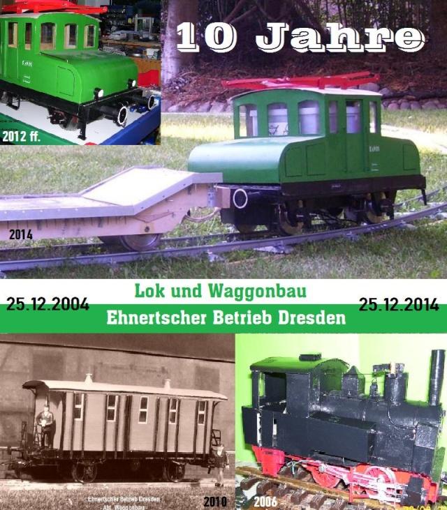 Na mal sehen, was das wird... Gartenbahn in 5 Zoll - Seite 15 Jubi10