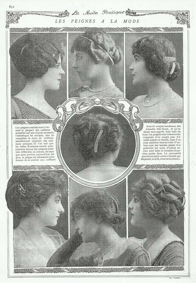 [Historique] coiffures, voiles et chapeaux : XIXème Modepr10