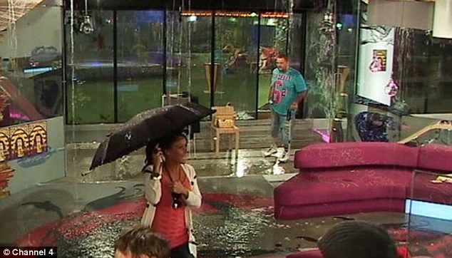 UK BIG BROTHER - House evacuated due to flooding! Articl11