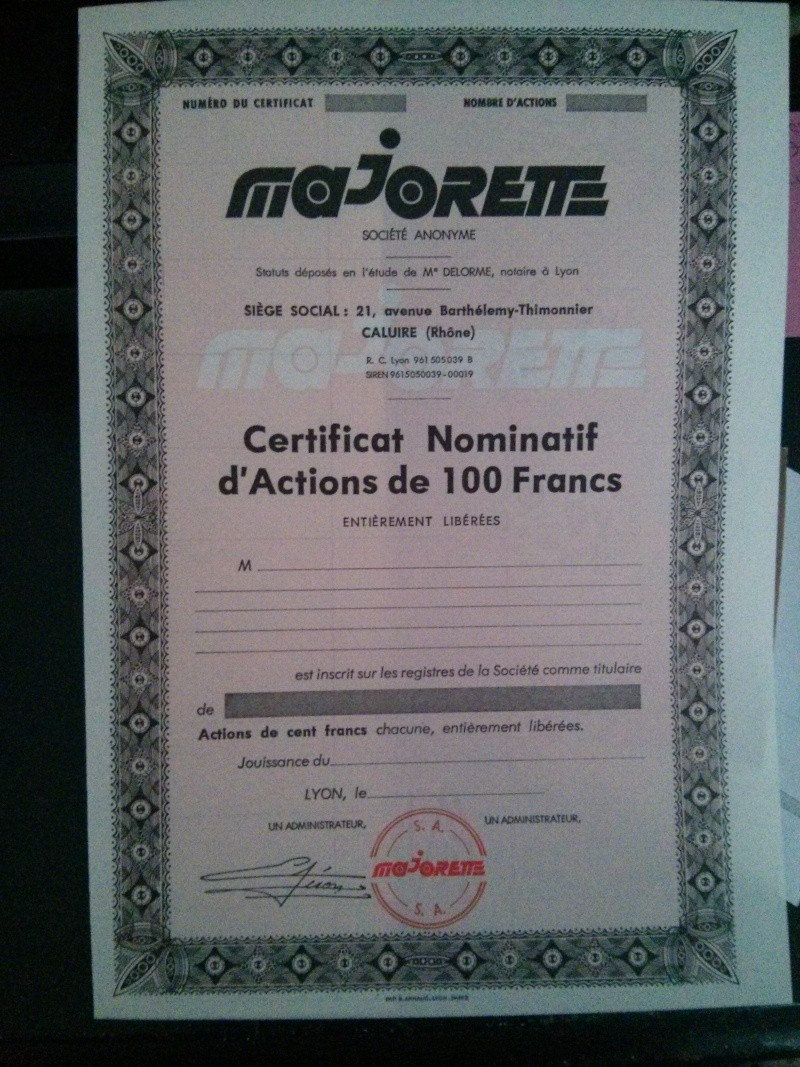 certificat nominatif d'actions  Img_2317