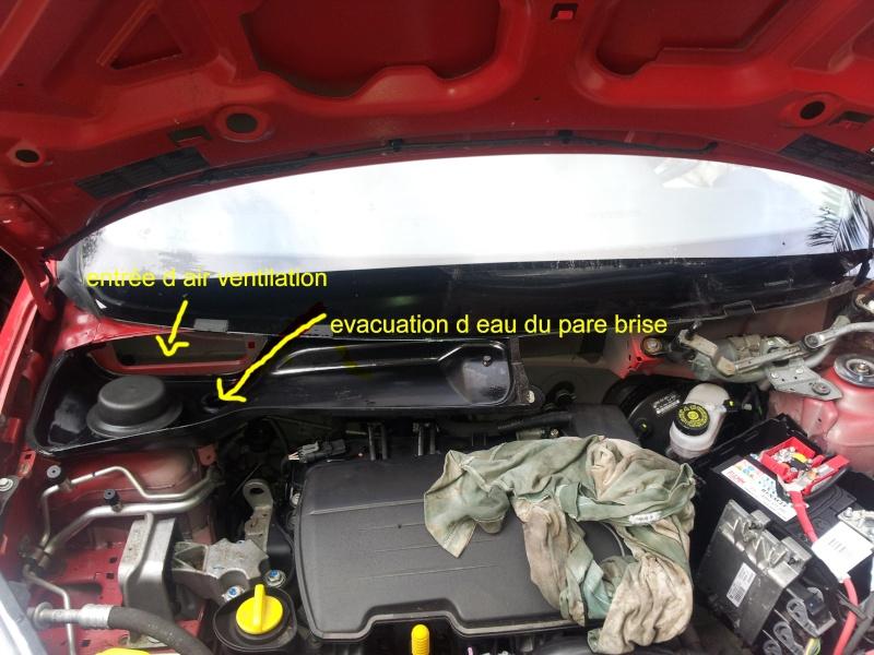 [ Renault Twingo II 1.2 ESS 16V 75 an 2009 ] problème électrique suite entrée d'eau 20140110