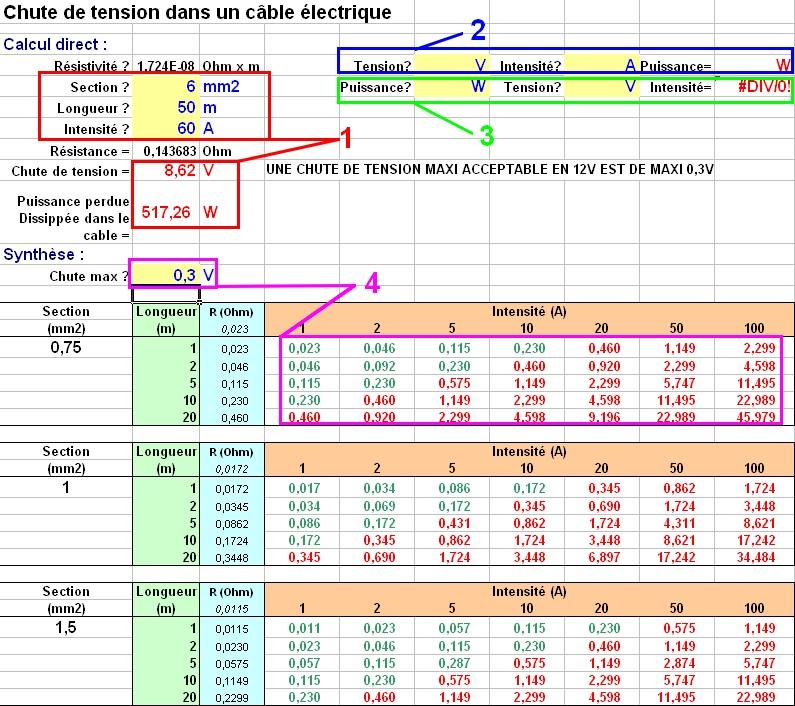 Cherche cable 35mm2 pas cher ... - Page 2 Calcul10