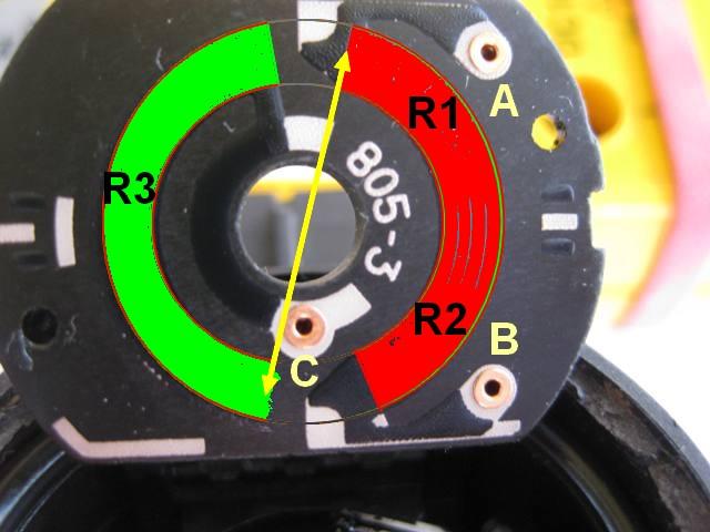 tester capteur de hauteur Pot310