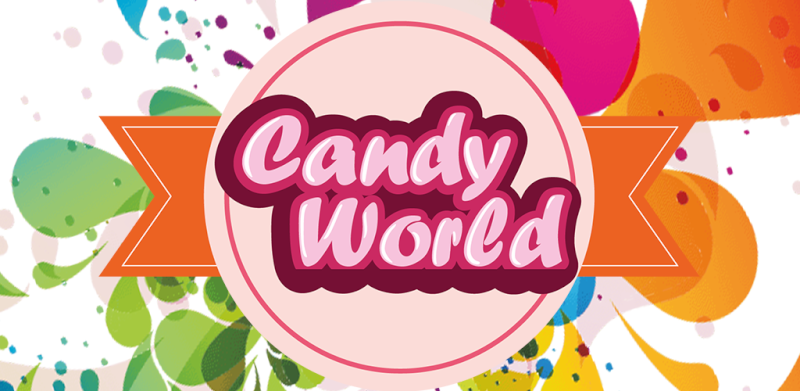 Candy World Logo10
