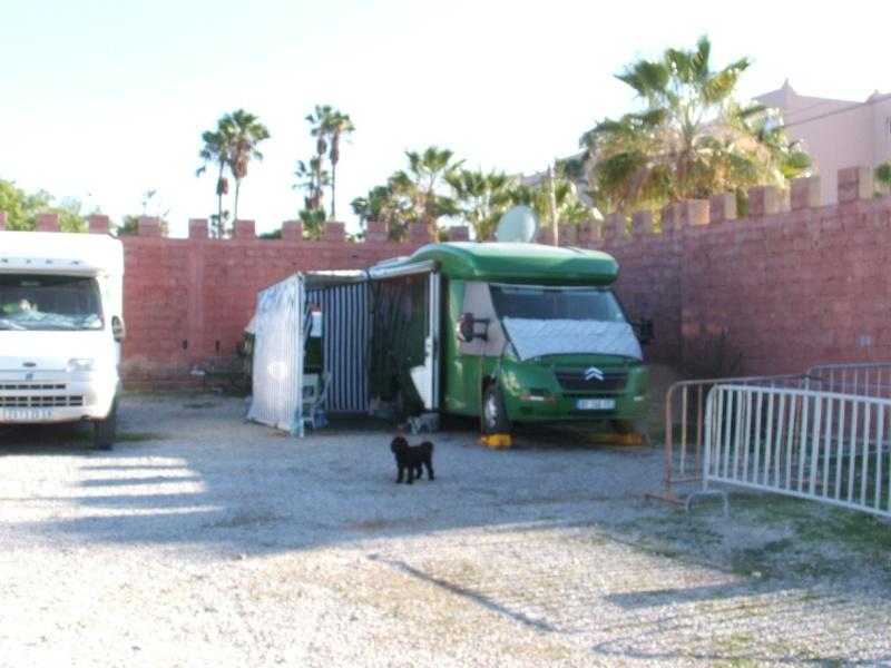 Camping Municipal TIZNIT fermé... en été Dscf9310