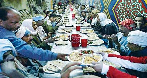 مائدة الرحمن فى شهر رمضان.! 418