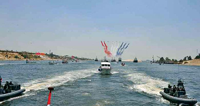 قناة السويس الجديدة قاطرة التنمية والاقتصاد  في مصر . Io_oua10
