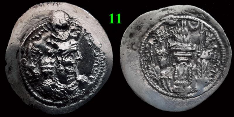 Drachmes Sassanides, oui mais ... 1110