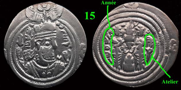 Drachmes Sassanides, oui mais ... 15bis10