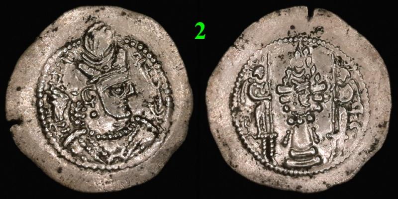 Drachmes Sassanides, oui mais ... 210