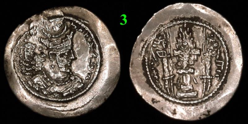 Drachmes Sassanides, oui mais ... 310