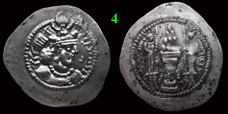 Drachmes Sassanides, oui mais ... 4bis10