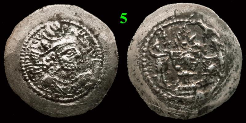 Drachmes Sassanides, oui mais ... 5bis10