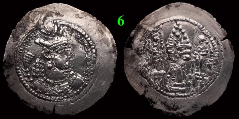 Drachmes Sassanides, oui mais ... 6bis10