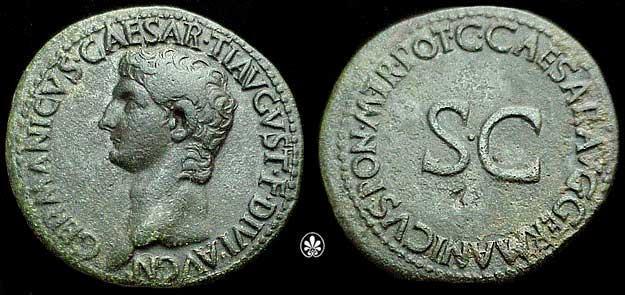 Identification d'une monnaie cuivre (S.Caesar .... ) ? Ric_0010