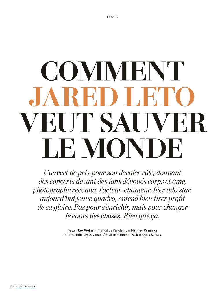 Jared Leto - L'Optimum - juin 2014 Tumblr10