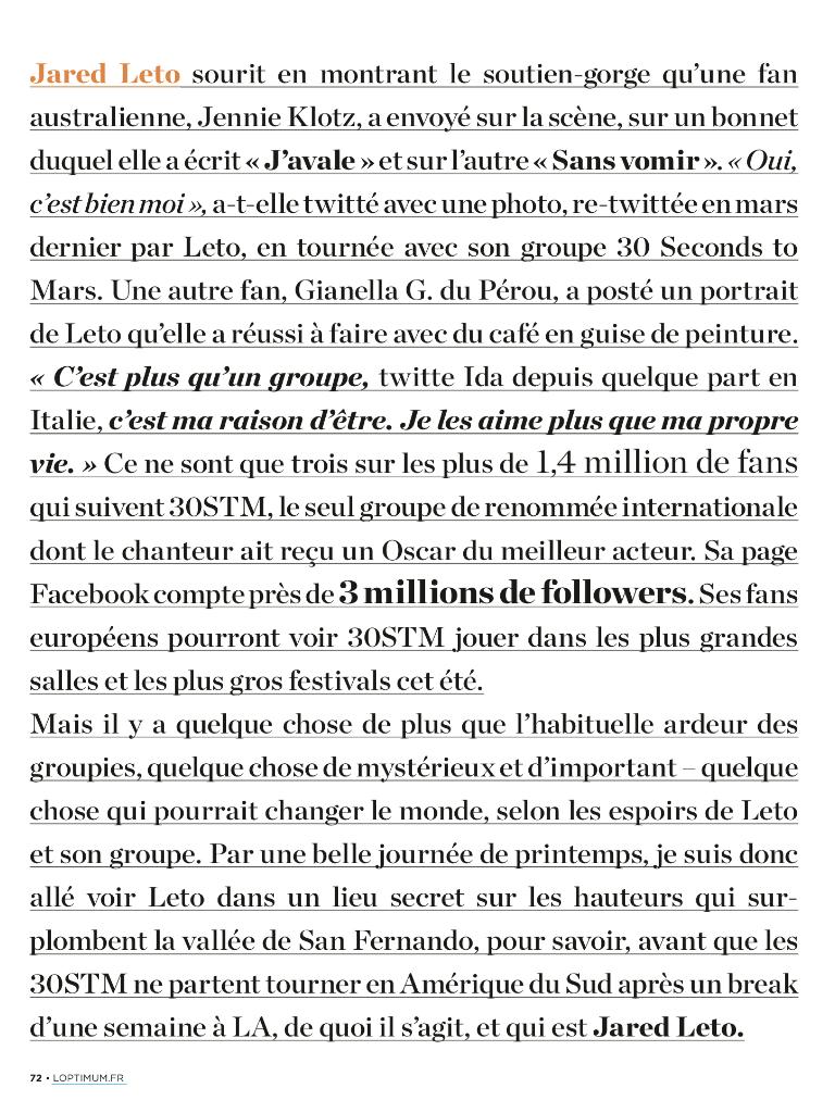 Jared Leto - L'Optimum - juin 2014 Tumblr11