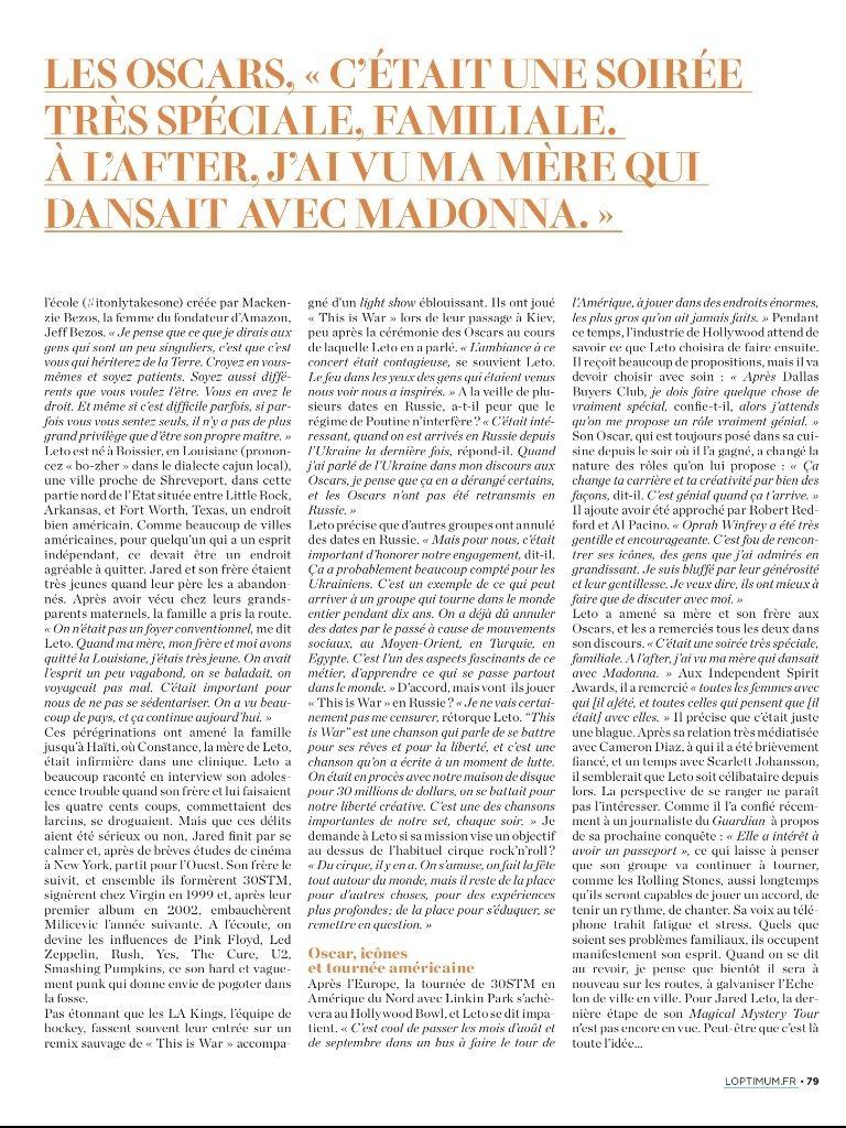 Jared Leto - L'Optimum - juin 2014 Tumblr18