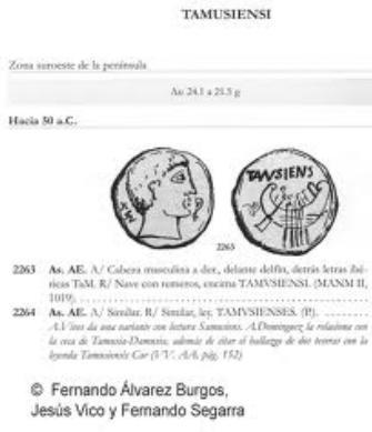 Sobre el As veton de Tamusia 126
