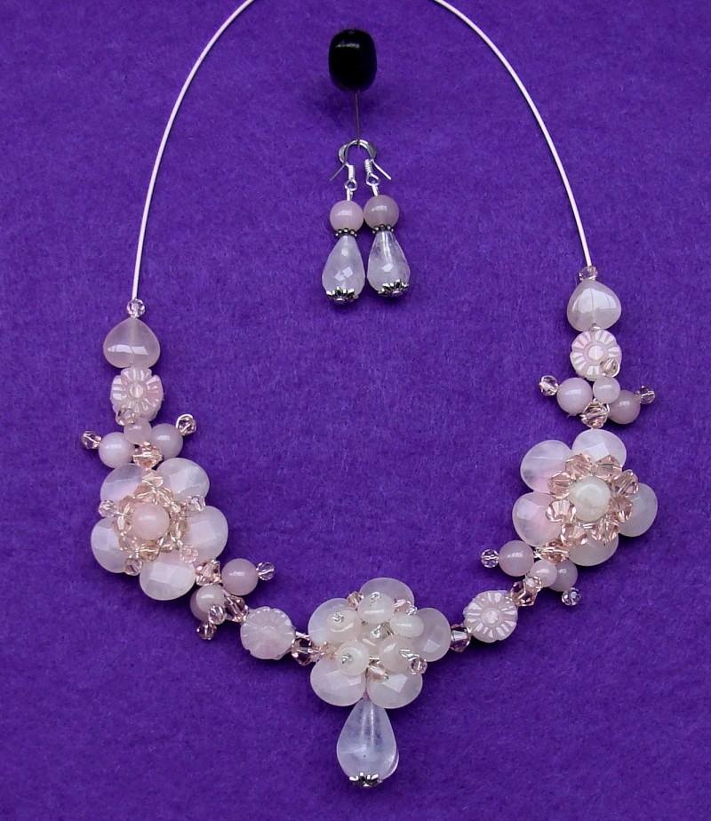 """""""Flori de piatră-Bijoux"""" albumul I-bijuterii artizanale marca Didina Sava - Pagina 17 Colier10"""