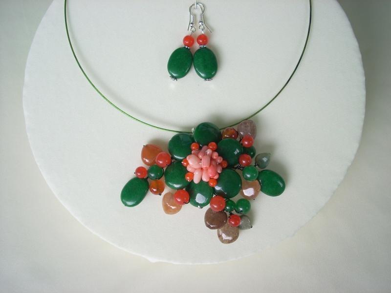 """""""Flori de piatră-Bijoux"""" albumul I-bijuterii artizanale marca Didina Sava - Pagina 16 Colier51"""