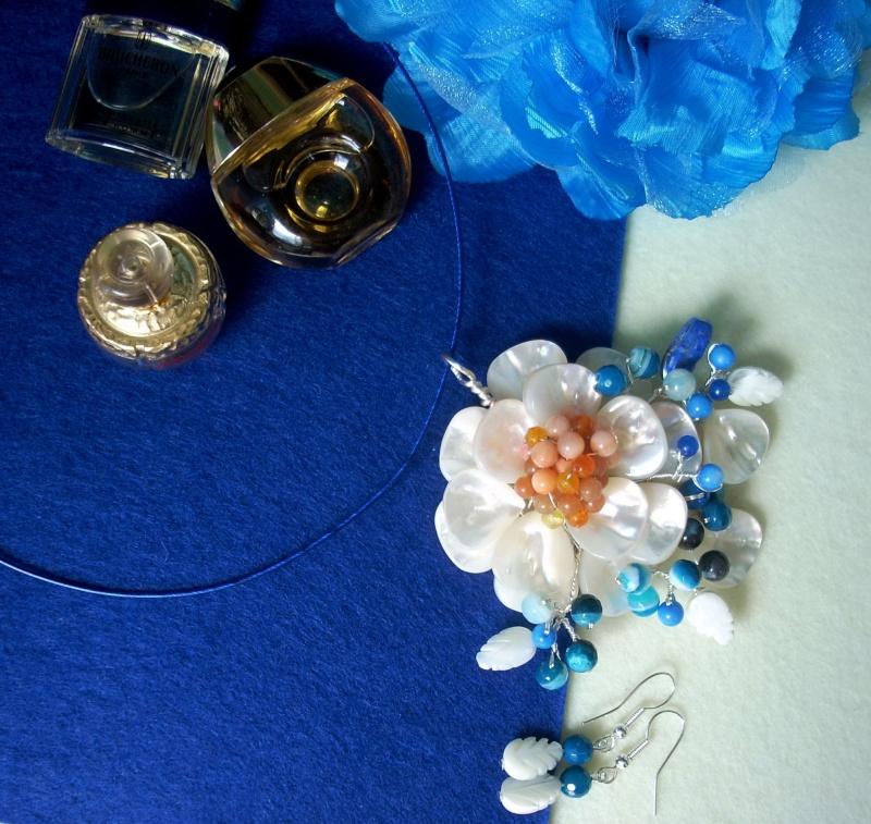 """""""Flori de piatră-Bijoux"""" albumul I-bijuterii artizanale marca Didina Sava - Pagina 16 Colier75"""