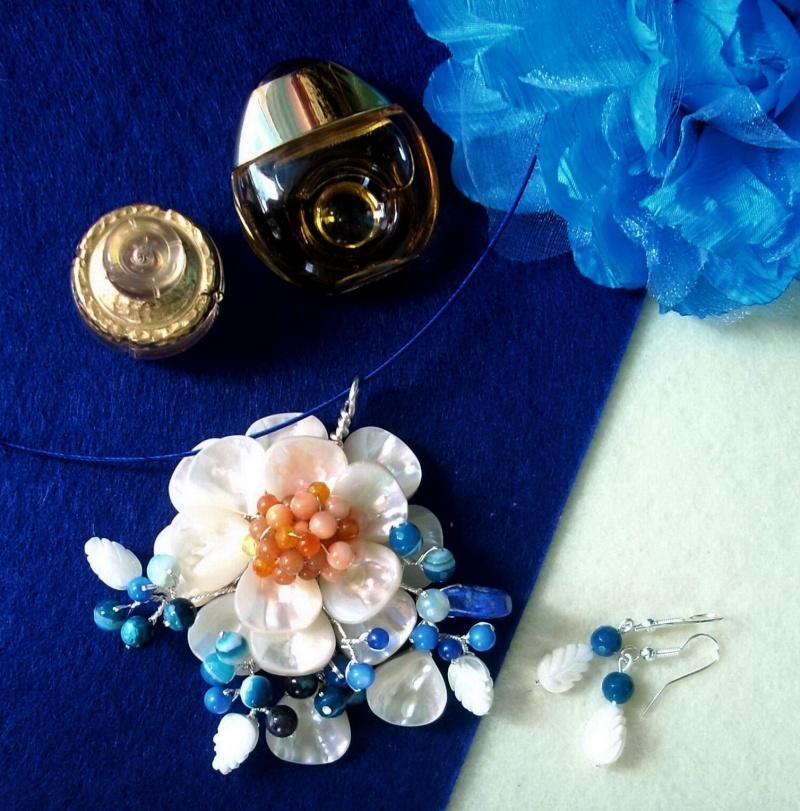 """""""Flori de piatră-Bijoux"""" albumul I-bijuterii artizanale marca Didina Sava - Pagina 16 Colier76"""