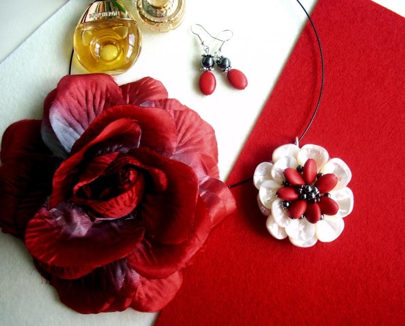"""""""Flori de piatră-Bijoux"""" albumul I-bijuterii artizanale marca Didina Sava - Pagina 16 Colier77"""