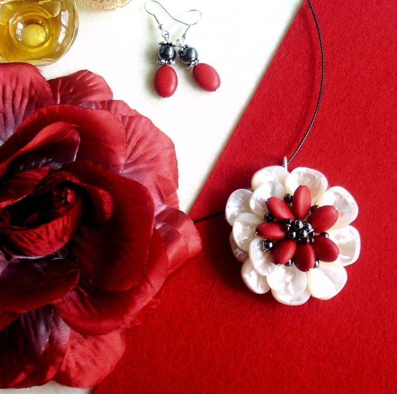"""""""Flori de piatră-Bijoux"""" albumul I-bijuterii artizanale marca Didina Sava - Pagina 16 Colier78"""