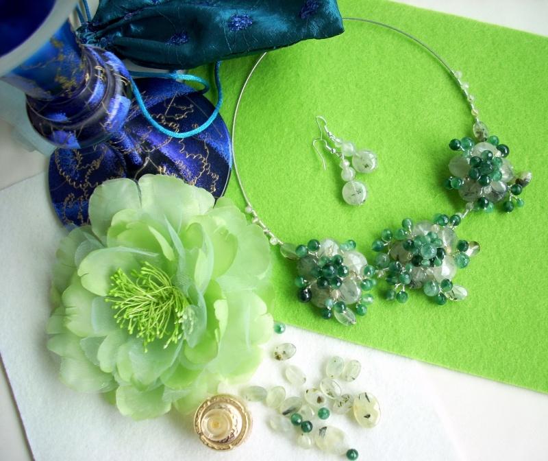 """""""Flori de piatră-Bijoux"""" albumul I-bijuterii artizanale marca Didina Sava - Pagina 16 Colier95"""