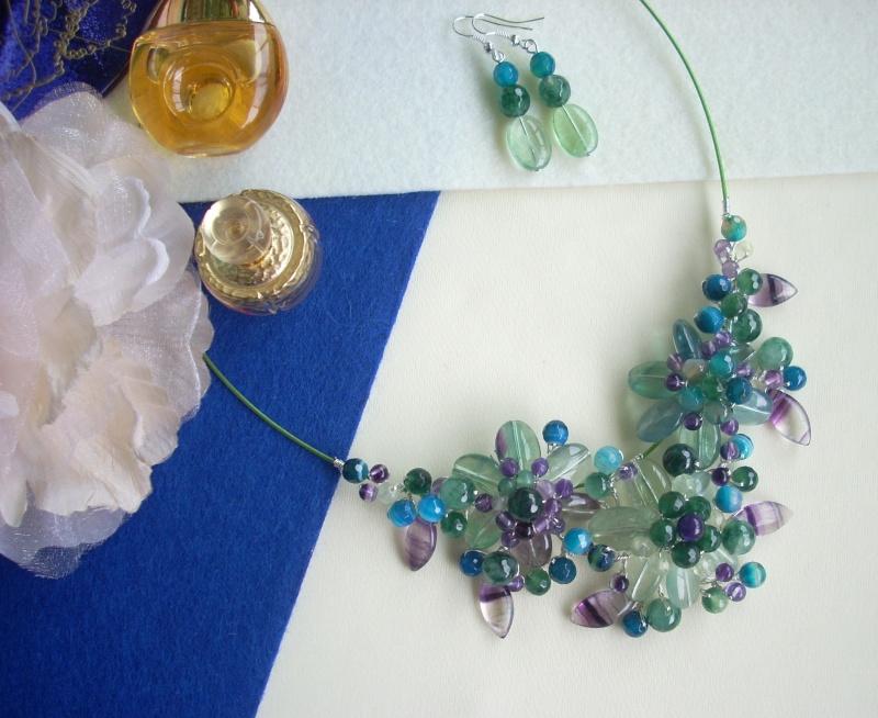 """""""Flori de piatră-Bijoux"""" albumul I-bijuterii artizanale marca Didina Sava - Pagina 16 Colier97"""