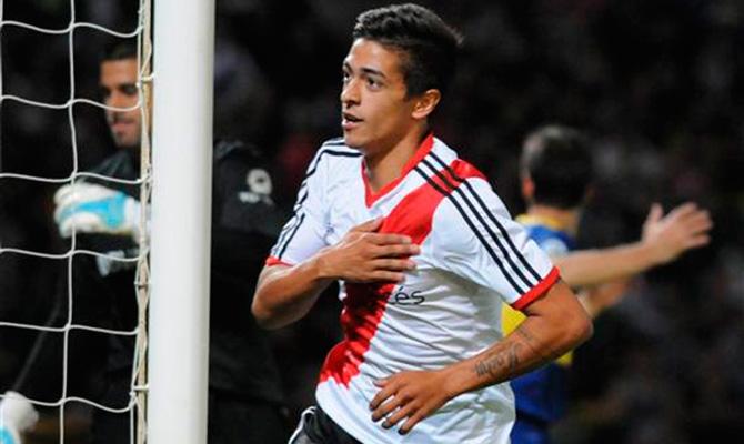 América buscaría a un jugador del River Plate Lanzin10