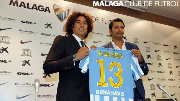 Guillermo Ochoa - Málaga CF Malaga10