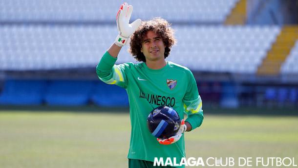 Guillermo Ochoa - Málaga CF Malaga11