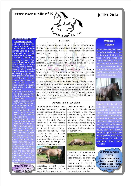 GPLV - Lettre mensuelle n°19 - Juillet 2014 Nl_jui11