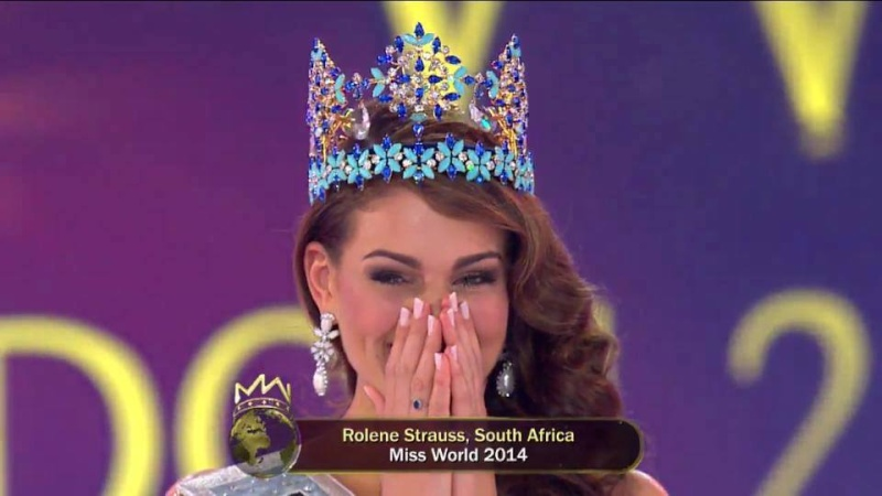The Official Thread of Miss World 2014 ® Rolene Strauss- South Africa 10246210