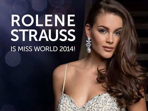 The Official Thread of Miss World 2014 ® Rolene Strauss- South Africa 10403112