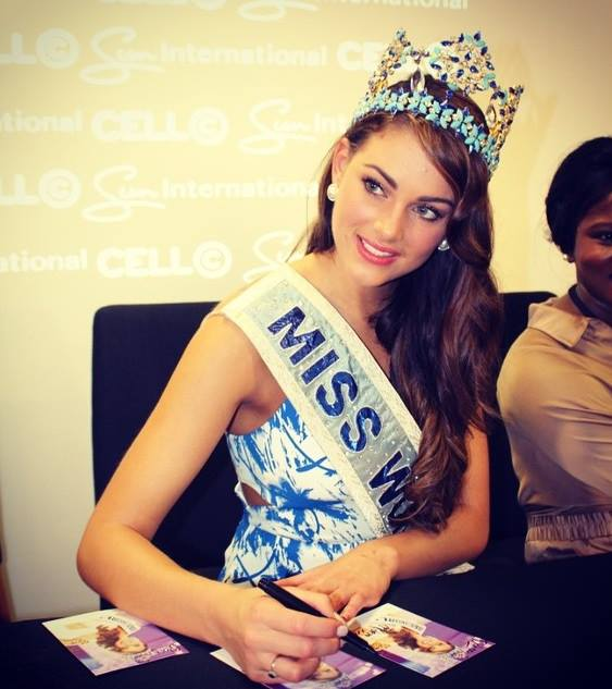 The Official Thread of Miss World 2014 ® Rolene Strauss- South Africa - Page 3 10675613