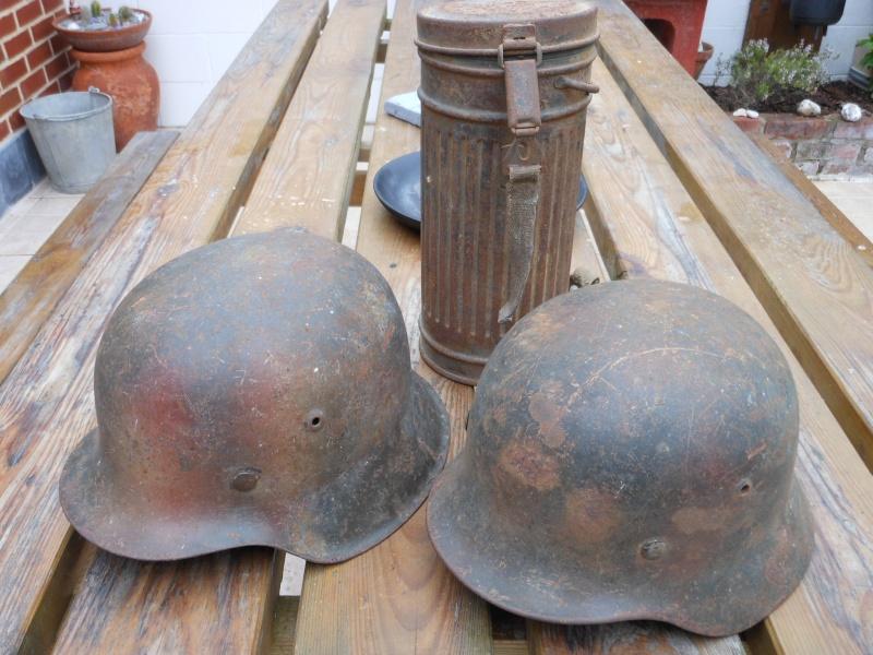 Deux casques et un boitier au meme camouflage. Dscn0214