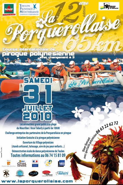 Ce dimanche à Porquerolles : Porquerollaise (01/08.2010) Affich10