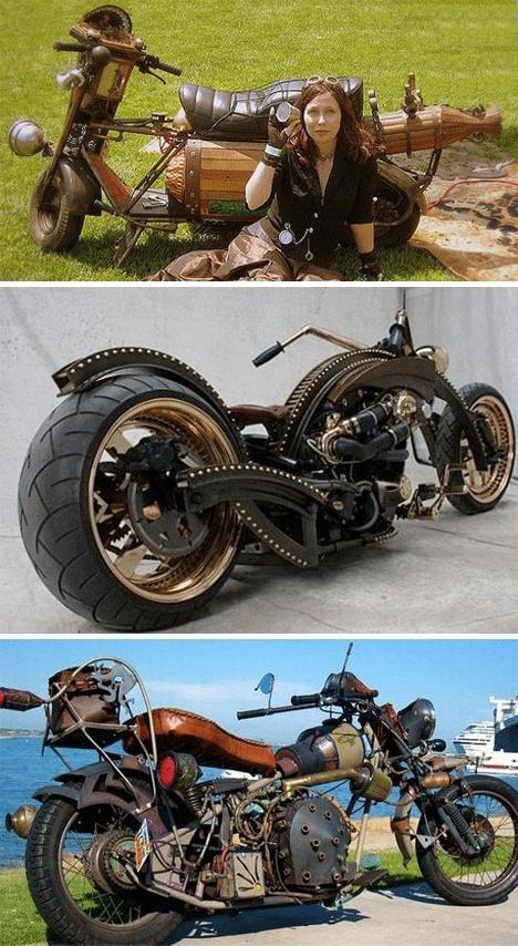 Idées : Moto Steampunk Steamp10