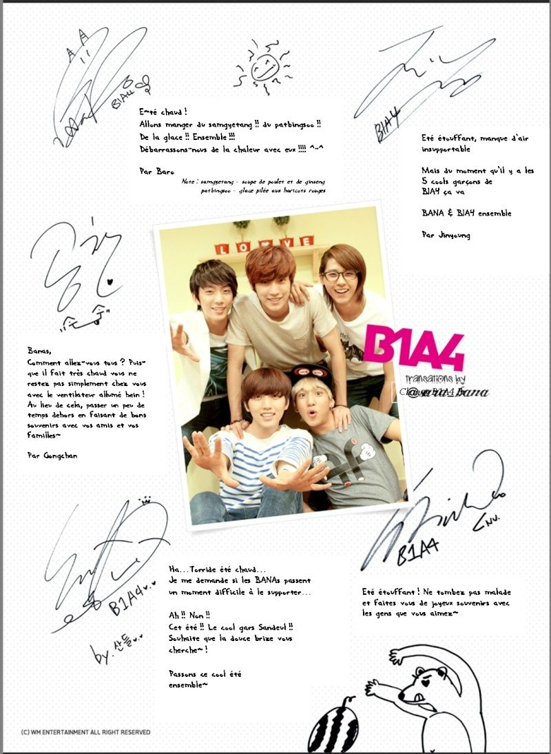 [120813] B1A4's Summer Card for Official BANA Fanclub Members B1a4ca10