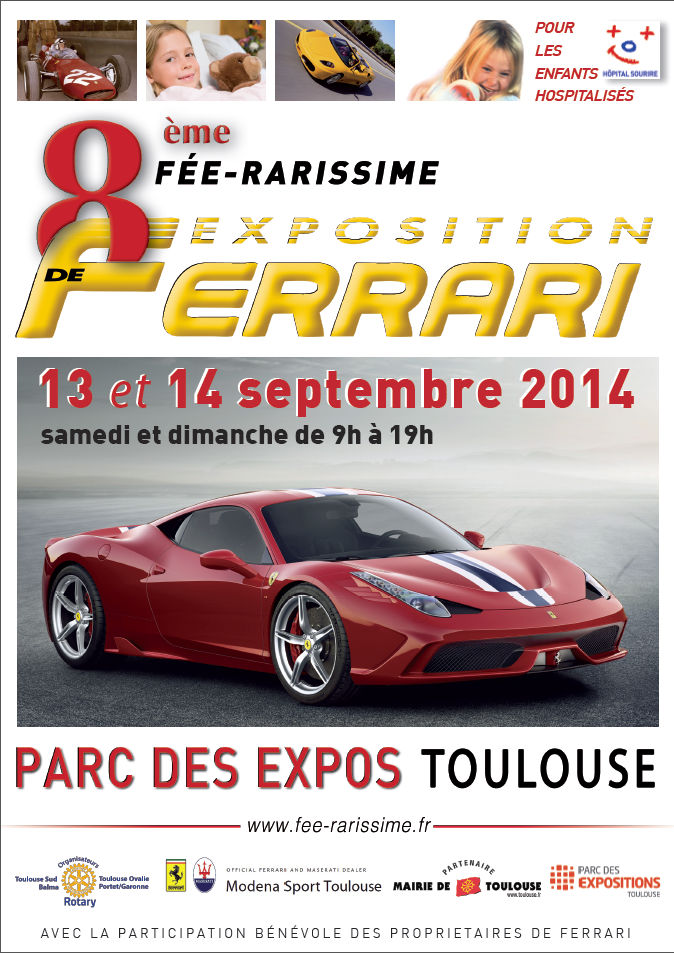 Fée-rarissime revient à Toulouse les 13 et 14 septembre 2014 Affich10