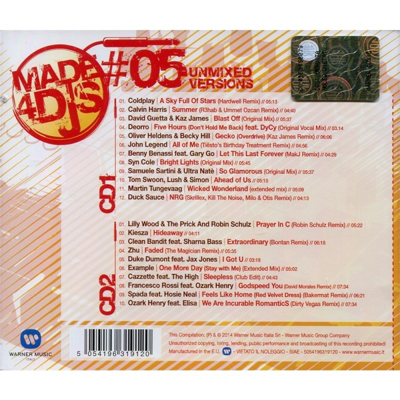 Made 4 Djs vol.5 21532010