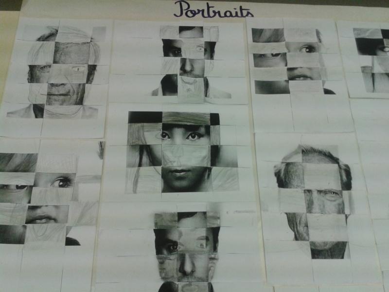 Le portrait en classe 20140110