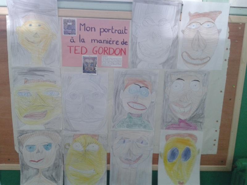 Le portrait en classe 20140211